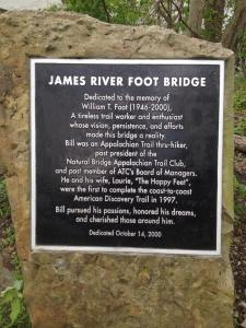 51-nJames river Foot Bridge