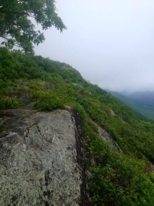 96-Hiking along the ridge